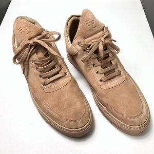 Filling Pieces Suede Sneakers Size 43